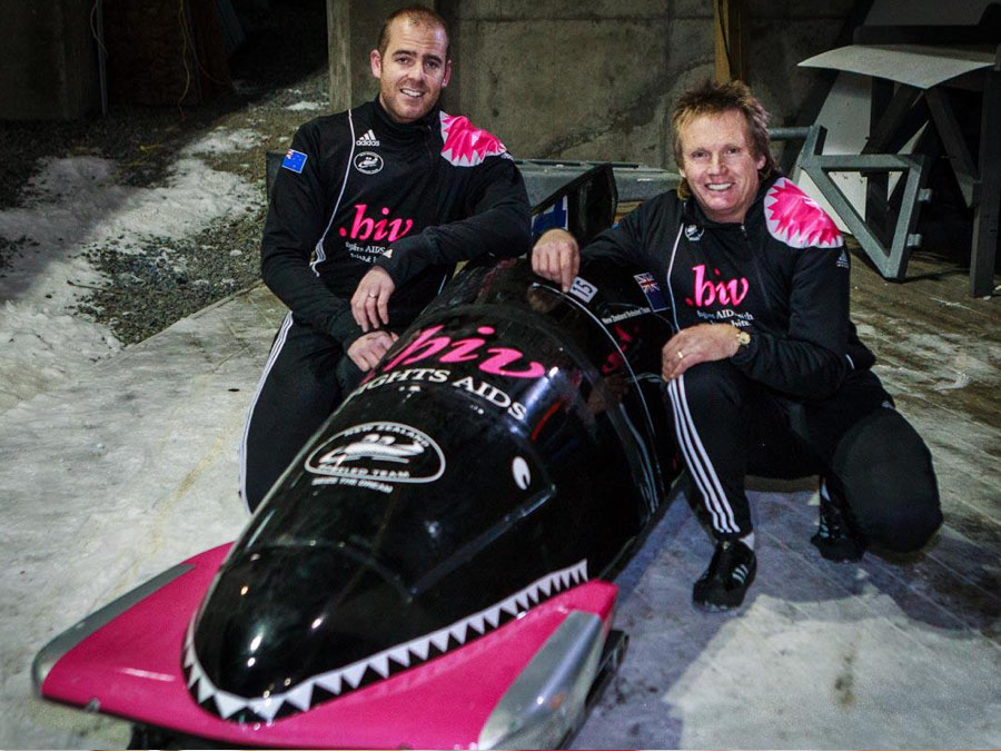 New Zealand Bobsled Duo